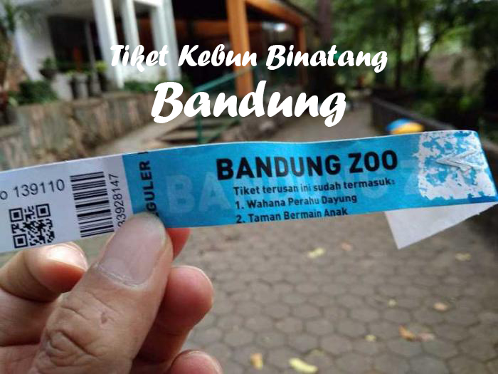 tiket kebun binatang bandung